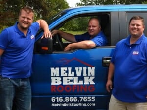 Melvin and the guys with a truck