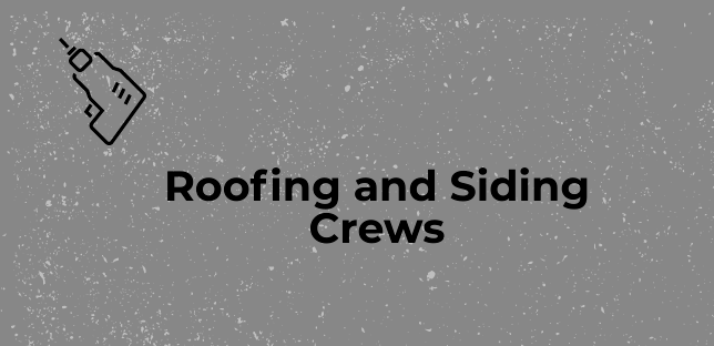 roofing and siding installer jobs